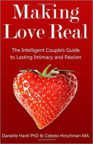 "Cover for sex therapy book ""Making Love Real"""